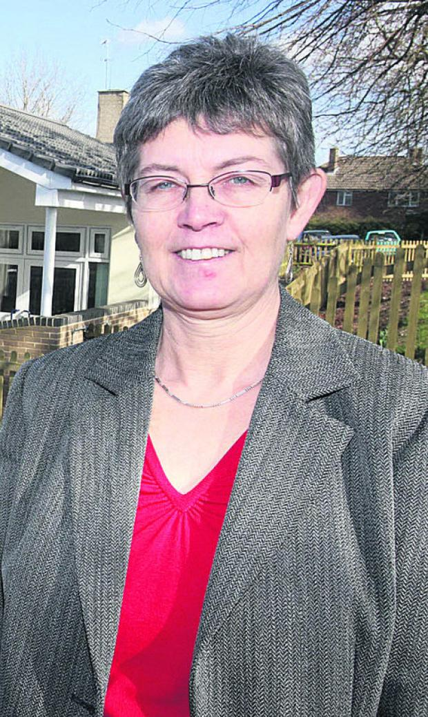 Headteacher Margaret Kelly