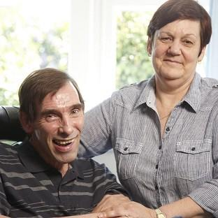 Jane Nicklinson is in court on behalf of husband Tony who has locked-in syndrome (Richard Ansett/Channel 4/PA)