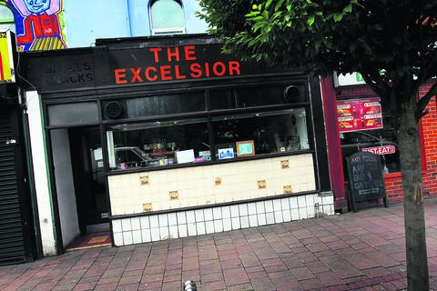 Banbury Cake: The Excelsior cafe in Cowley Road