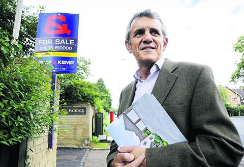 Estate agent Graham McDonald believes a shortage of housing in Oxford has pushed prices up