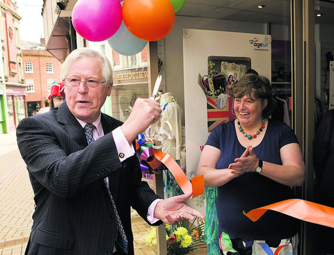 John Craven and shop manage