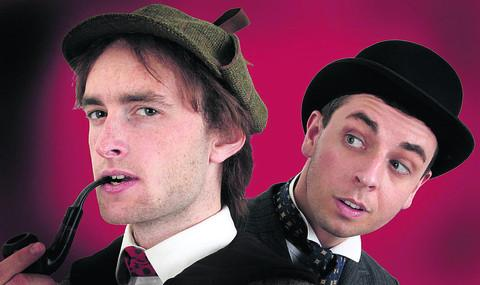 James Snee as Sherlock and Liam Nooney as Dr Watson
