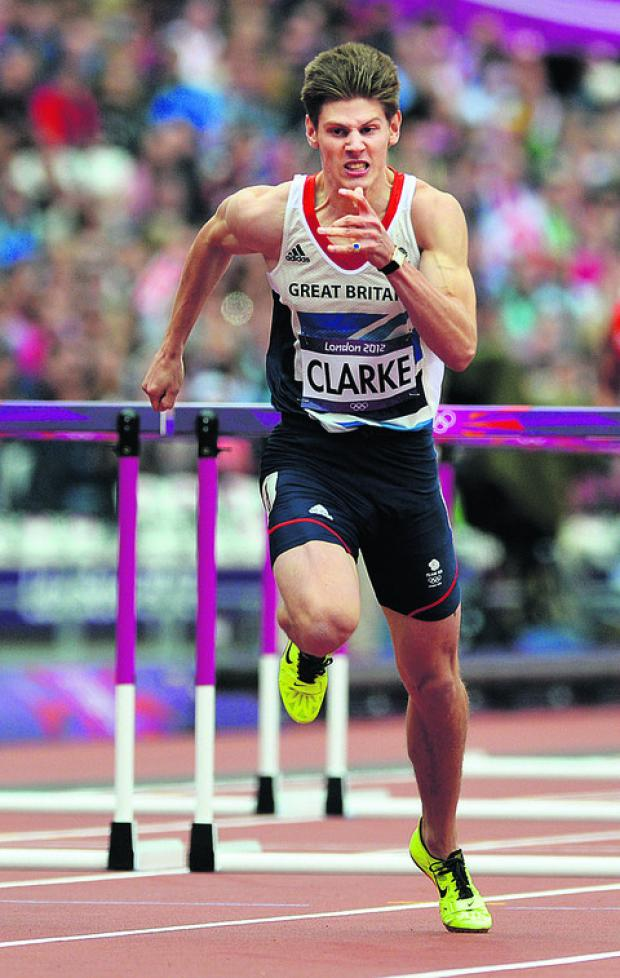 Hurdler goes for glory