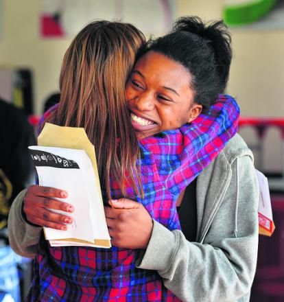 It was good news for some pupils at Cheney School on Thursday, but English GCSE results came as a major shock to dozens of others