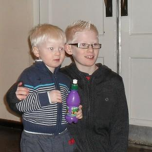 Brothers Bryn, 3, and Jack Anderson, 11, who were found dead in a flat in Tidworth, Wiltshire, along with their father Graham Anderson