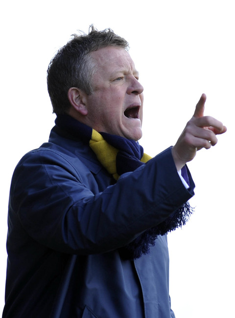 Chris Wilder pictured during last season's Kassam Stadium derby
