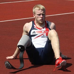 British favourite Jonnie Peacock will be aiming for gold in the Paralympics 100m