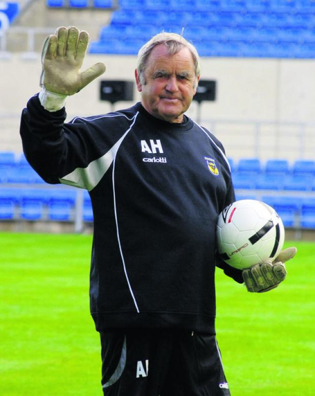 Banbury Cake: Alan Hodgkinson will be the guest of honour tomorrow as Oxford United pay tribute to an extraordinary career, which began 60 years ago as a goalkeeper at Sheffield United