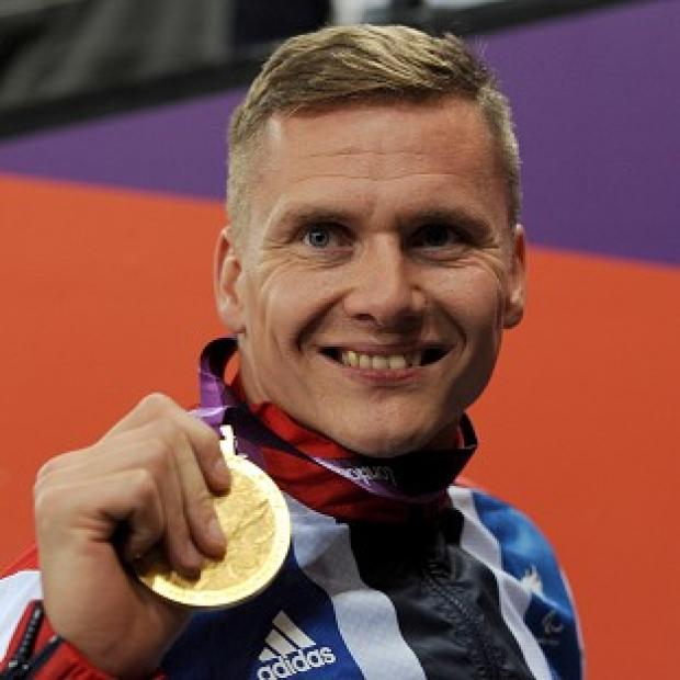 Banbury Cake: Great Britain's David Weir is bidding for another Paralympic gold in the men's wheelchair marathon