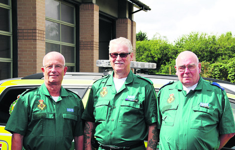 Fond memories of ambulance workers' century of care