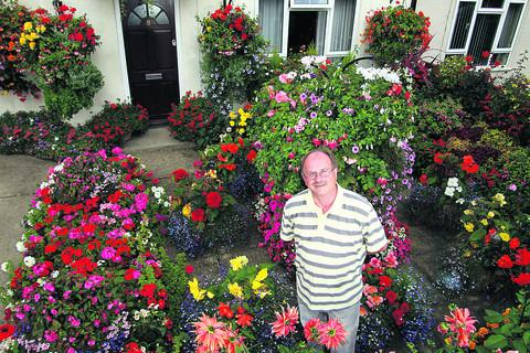 Chris's colorful garden is blooming marvellous