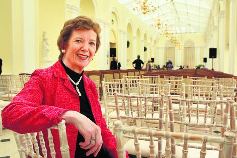 ex-Irish President Mary Robinson
