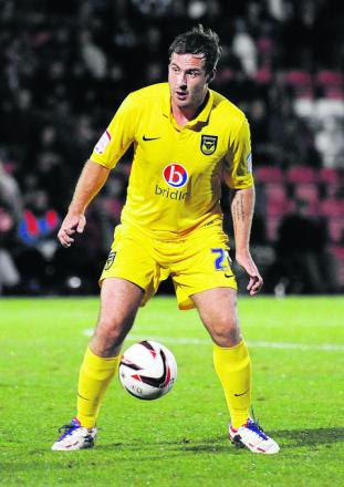Peter Leven scored on his return to Oxford United's side