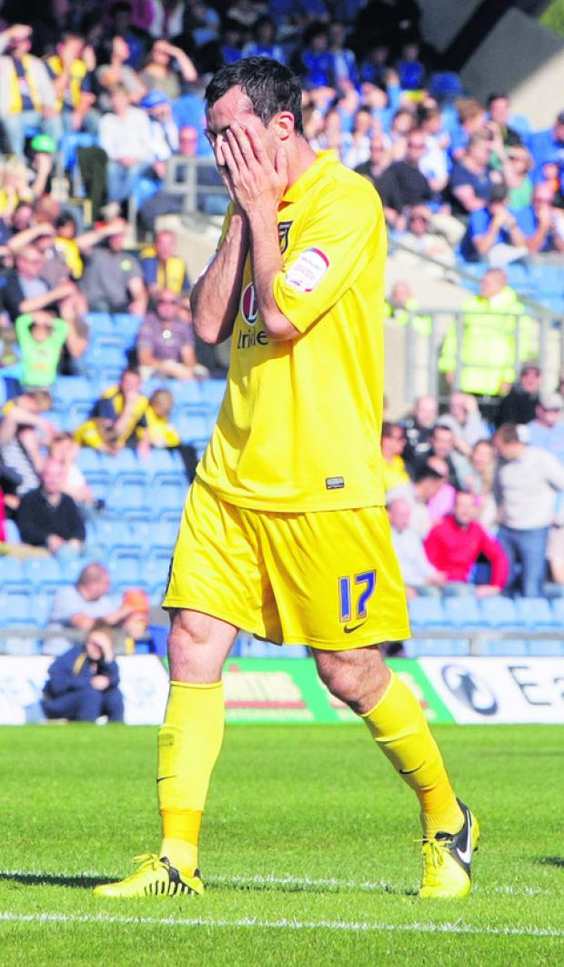 Tony Capaldi sums up the feeling around the Kassam Stadium on Saturday