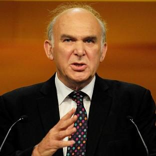 Vince Cable will hail the 'business bank' initiative in his speech to the Libera