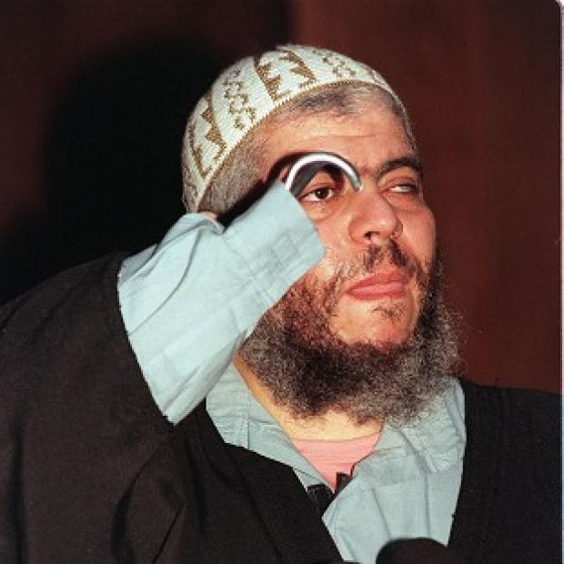 Abu Hamza is one of five terror suspects who have launched last-ditch legal challenges to avoid extradition to the US