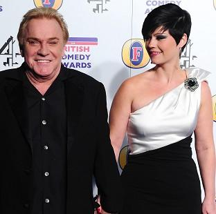 Freddie Starr and fiancee Sophie Lea presented a united fron