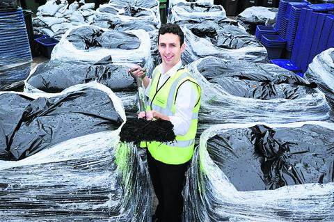 Banbury Cake: Recycling officer Andrew Jenkins