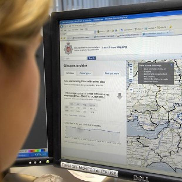 The crime map website was the Government's most popular online site in 2011