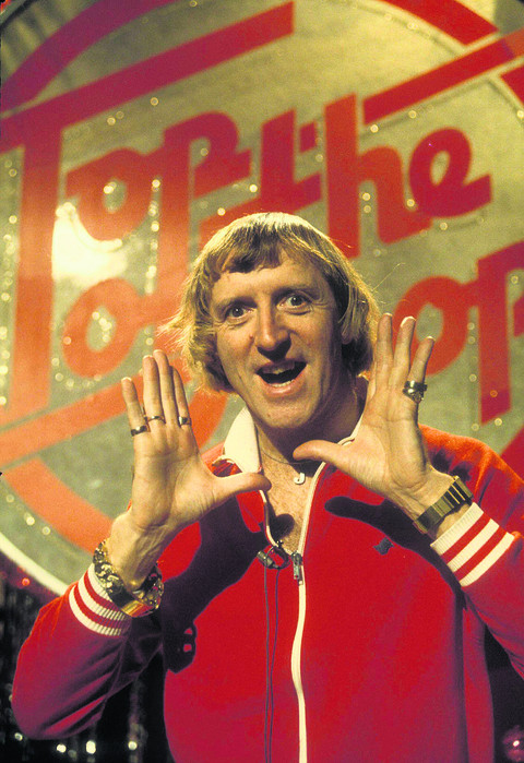 'Creepy' Savile never stopped his stage act