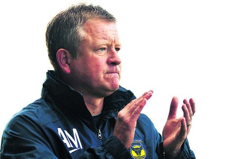 Chris Wilder has been nominated for manager of the month three times this season