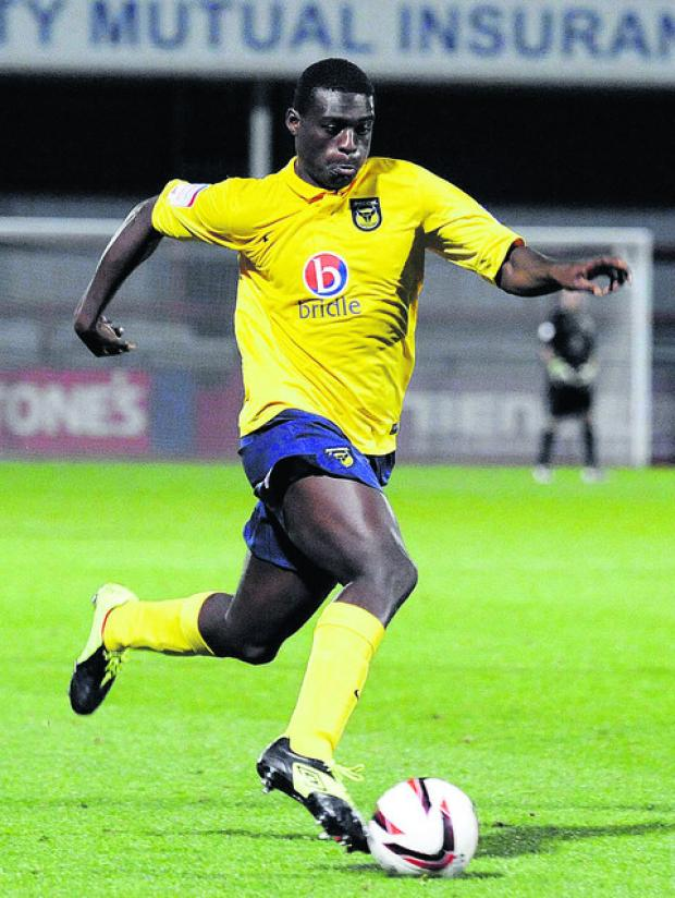 Banbury Cake: Daniel Boateng has struggled to play regularly while on loan