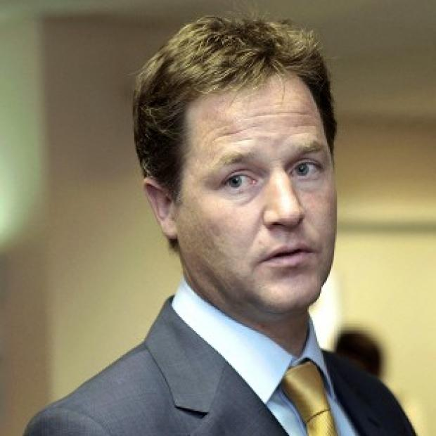 Banbury Cake: Deputy Prime Minister Nick Clegg is expected to claim his party is a 'sensible, centrist and pragmatic' influence in Government