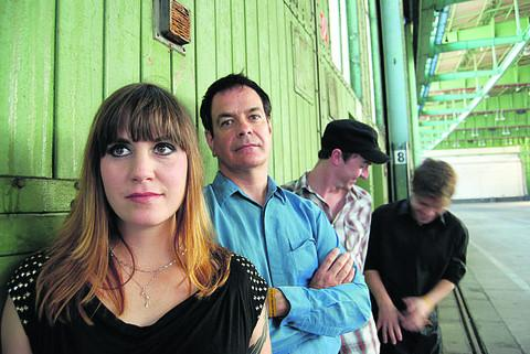 David Gedge, second from left, and The Wedding Present, who play Leamington Spa's Assembly on Tuesday