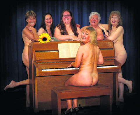 The Banbury Cross Players' cast of Calendar Girls
