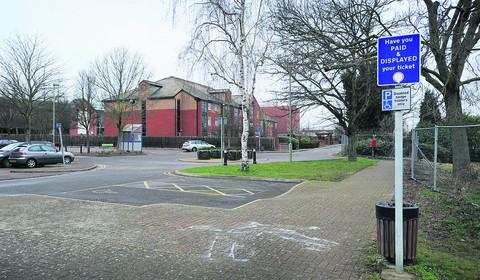 The Mill car park in Banbury, where parking is free for six weeks on Saturdays, Sundays and Mondays