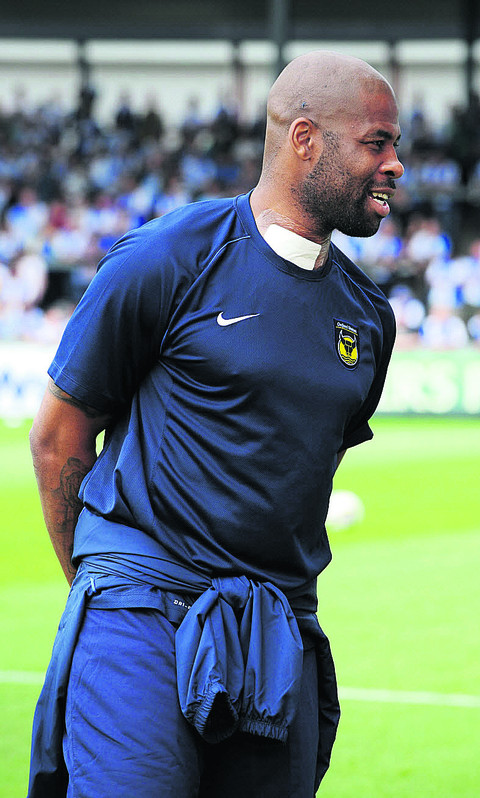 Michael Duberry shortly after his operation in August
