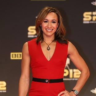Jessica Ennis arrives for the BBC Sports Personality of the Year Awards 2012 at ExCeL London