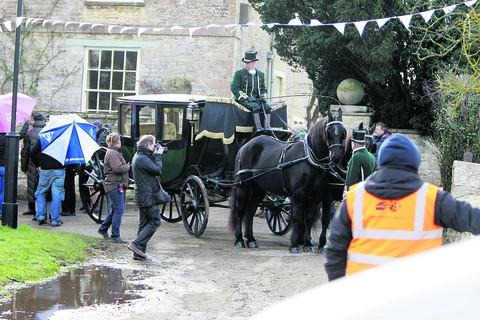 Downton Abbey filmed in Bampton