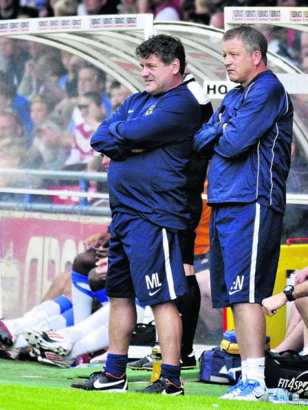 Mickey Lewis (left) says Fleetwood Town are a force to be reckoned with in their debut Football League season