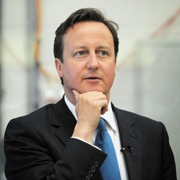 David Cameron said Britain has built up 'world-renowned' institutions such as the NHS and BBC