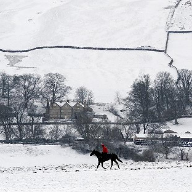 Another brief dump of snow is expected to cover parts of the UK before warmer temperatures arrive