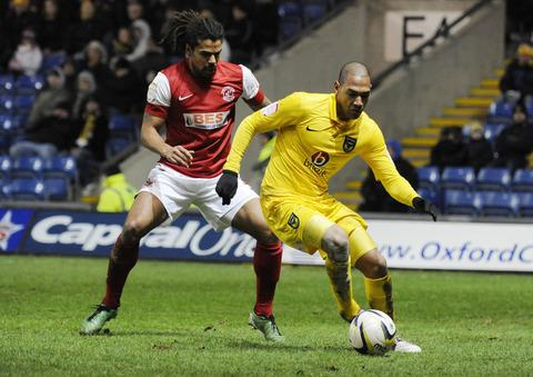 Damian Batt is out to ensure Oxford United's fans have plenty to cheer about against York this afternoon
