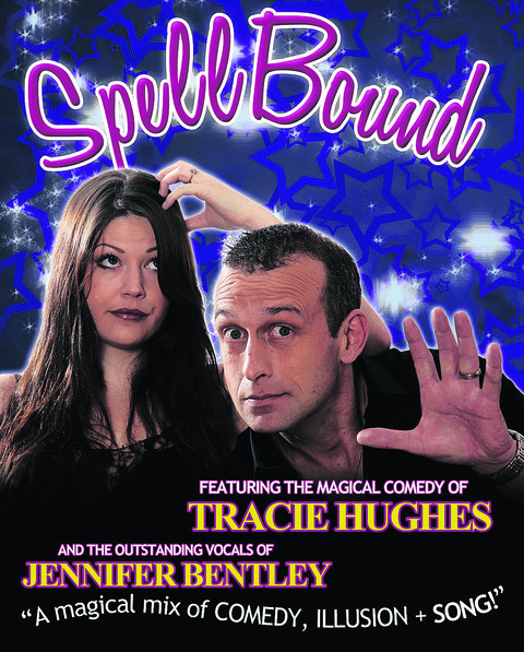 Left SpellBound . . . Tracie Hughes and Jennifer Bentley coming to the Corn Exchange, Wallingford