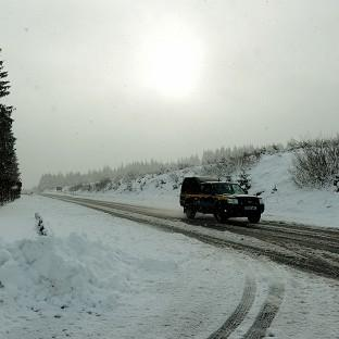 Snow and sub-zero temperatures are causing travel disruption