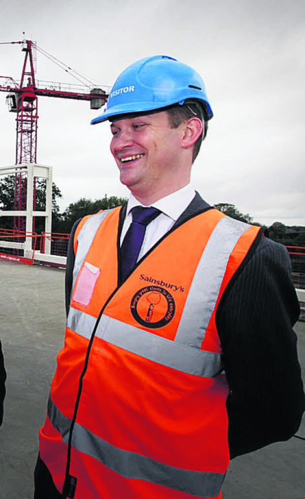 Sainsbury's development executive Tim Watkins