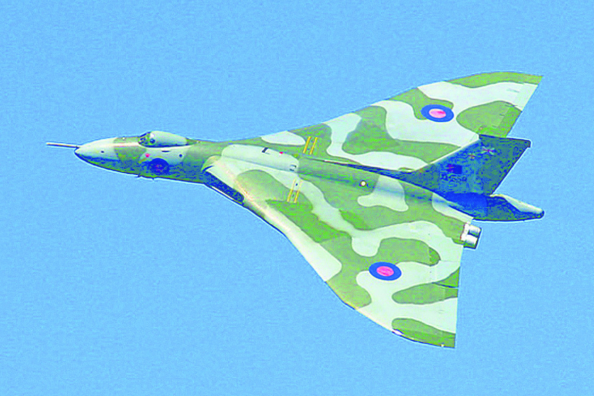 Iconic aircraft . . . The Vulcan bomber