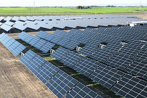 How the solar farms might take shape