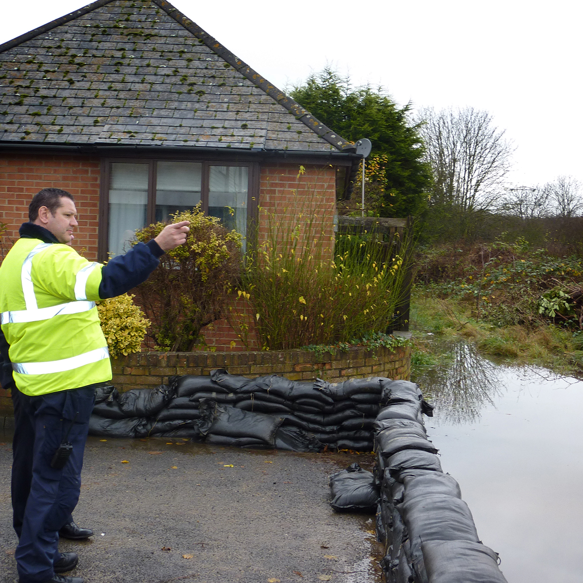 FLOODING: A number of flood alerts have been issued across Oxfordshire
