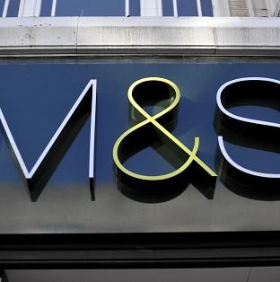 Banbury Cake: Marks and Spencer has admitted that its clothing and homewares division continued to struggle.