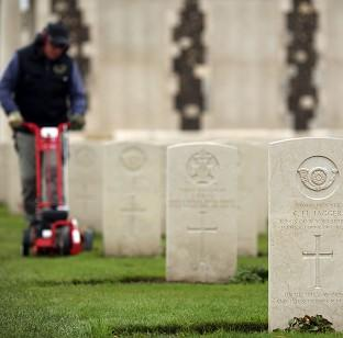 The Tyne Cot Cemetery and Memori