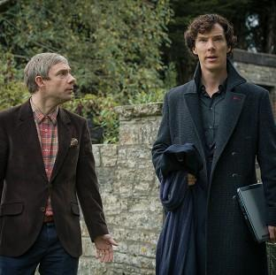 Banbury Cake: Holmes and Watson return in the hit BBC1 drama Sherlock