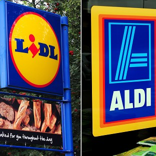 Discount retailers Lidl and Aldi are grabbing a bigger market share.
