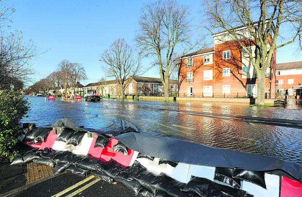 Floods on Botley Road earlier this month