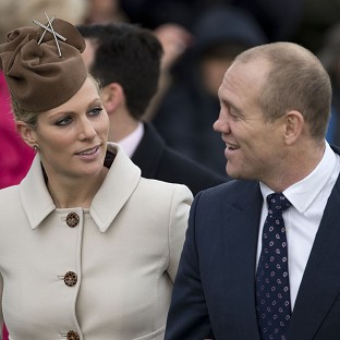 Tindall's royal baby joy