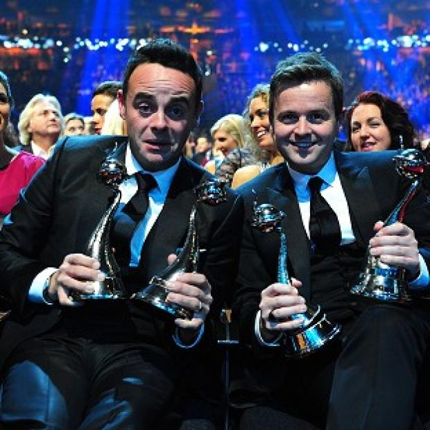 Banbury Cake: Ant and Dec celebrate with their National Television Awards